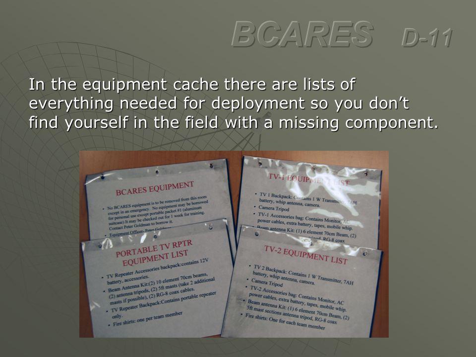 BCARES D-11