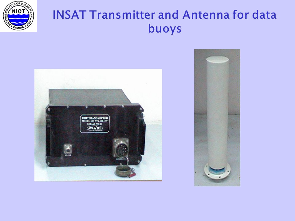 INSAT Transmitter and Antenna for data buoys
