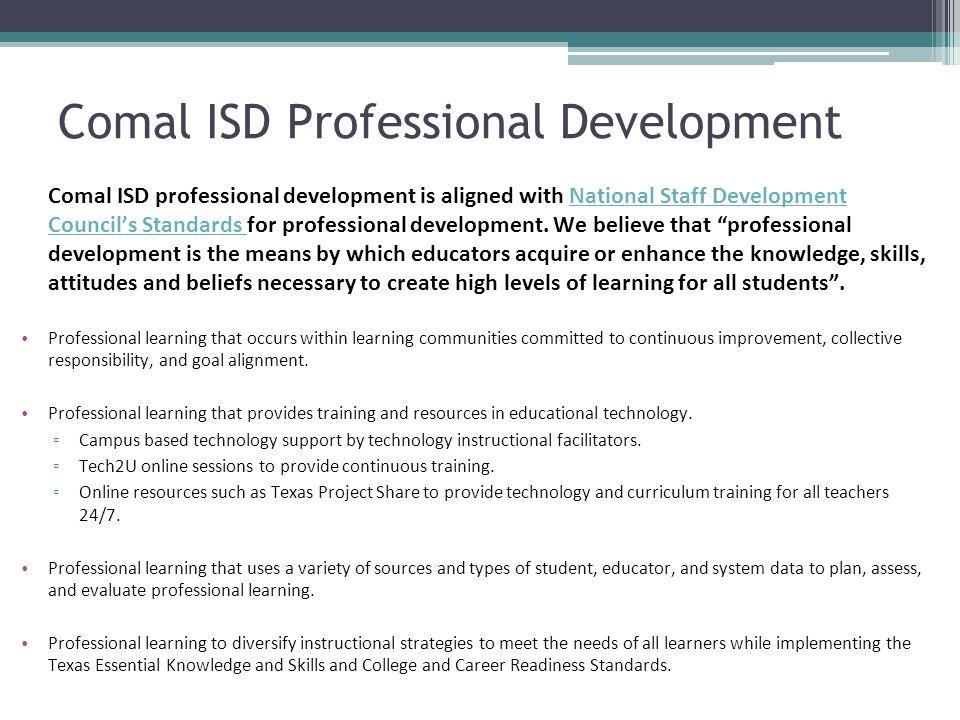 Comal ISD Professional Development