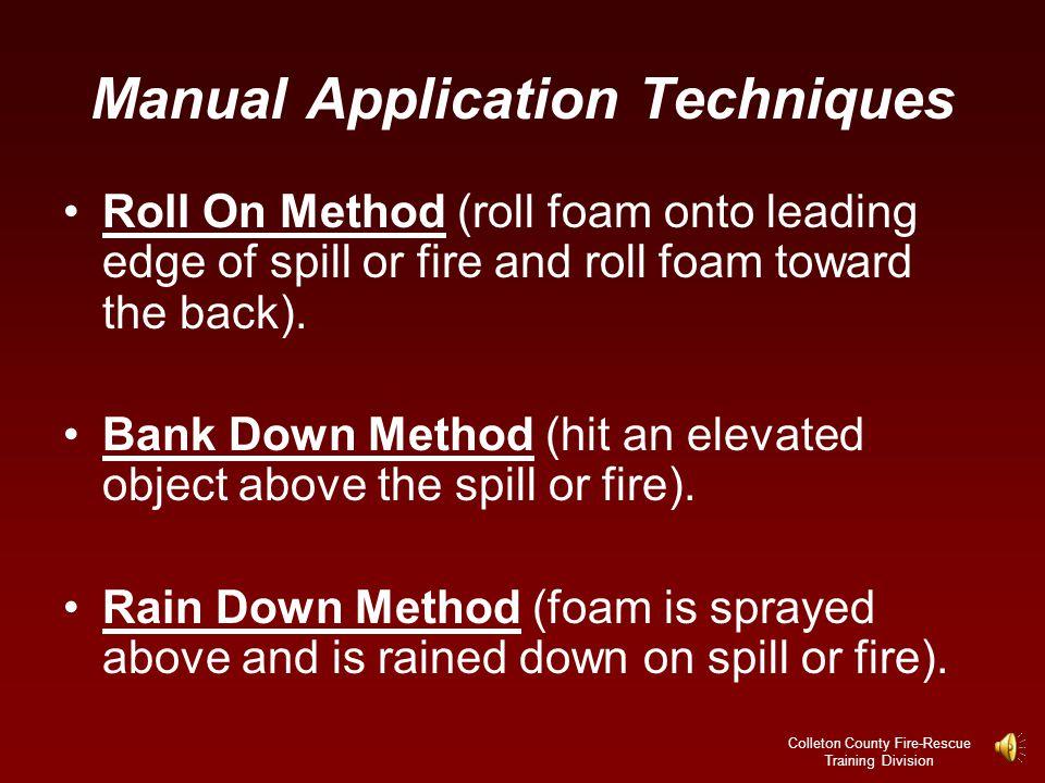 Manual Application Techniques