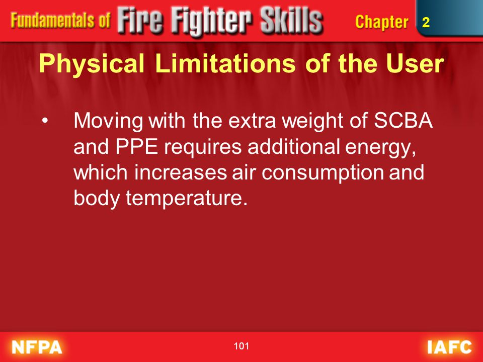 Physical Limitations of the User
