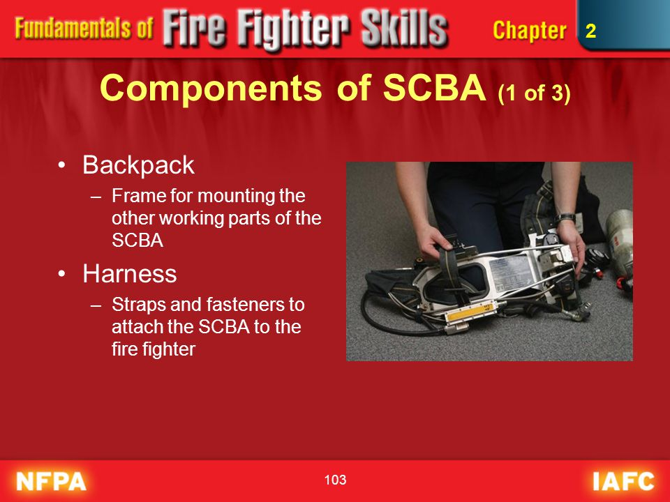 Components of SCBA (1 of 3)