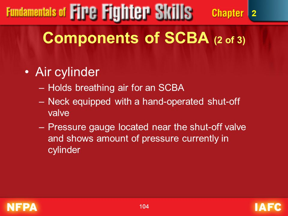 Components of SCBA (2 of 3)