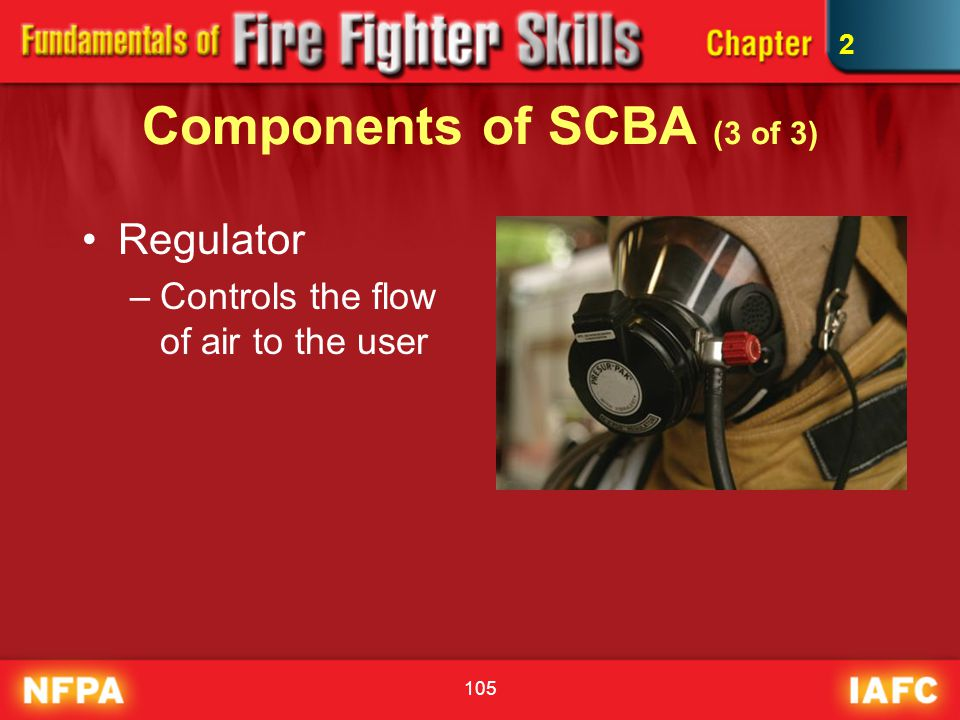 Components of SCBA (3 of 3)
