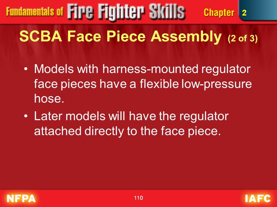 SCBA Face Piece Assembly (2 of 3)