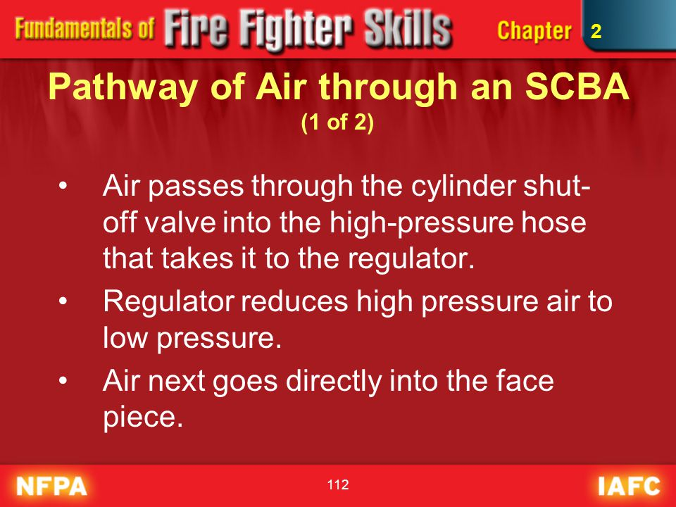 Pathway of Air through an SCBA (1 of 2)