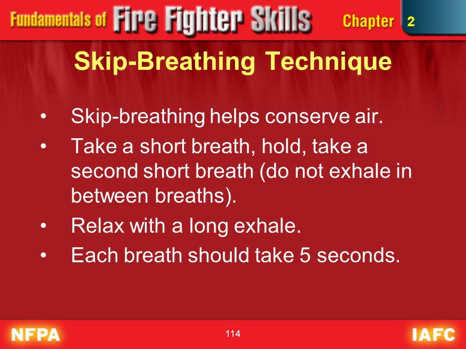 Skip-Breathing Technique