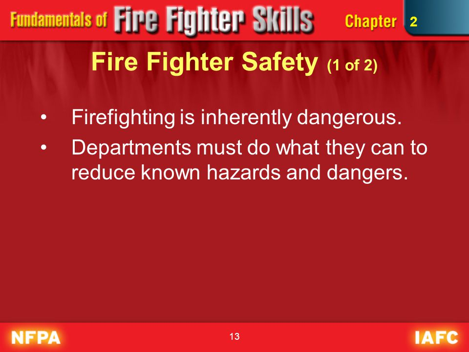 Fire Fighter Safety (1 of 2)