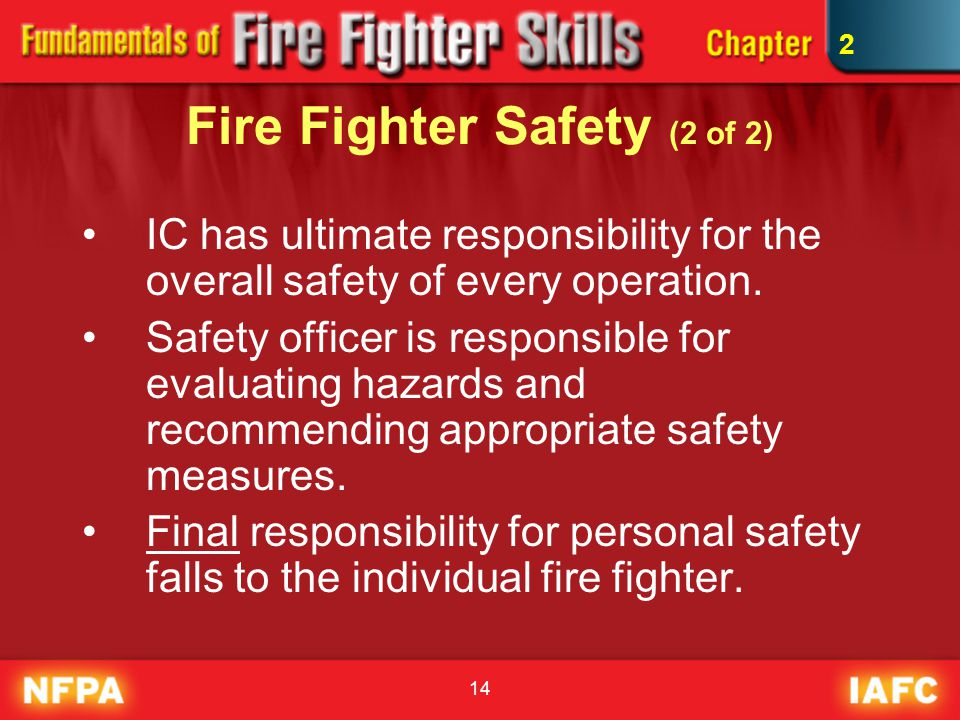 Fire Fighter Safety (2 of 2)