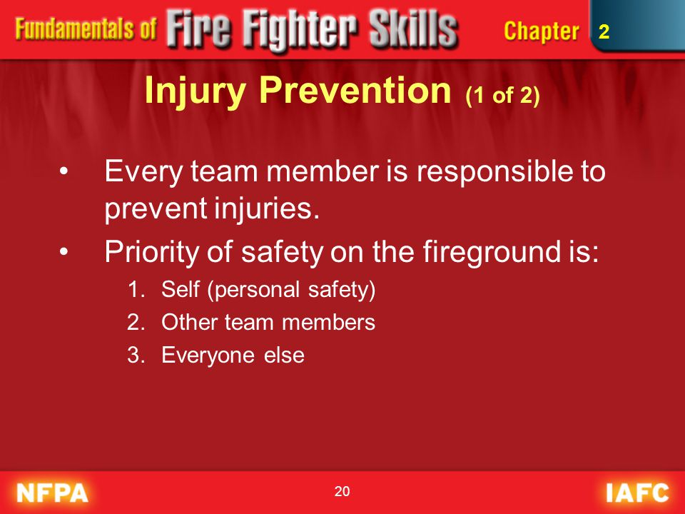 Injury Prevention (1 of 2)
