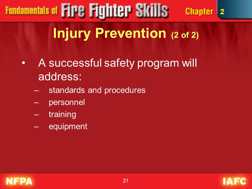 Injury Prevention (2 of 2)