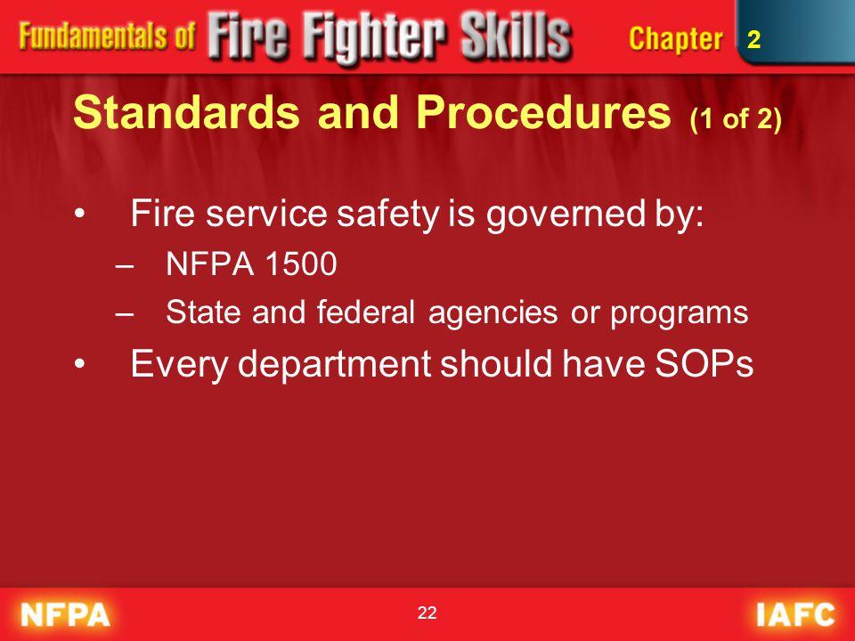 Standards and Procedures (1 of 2)