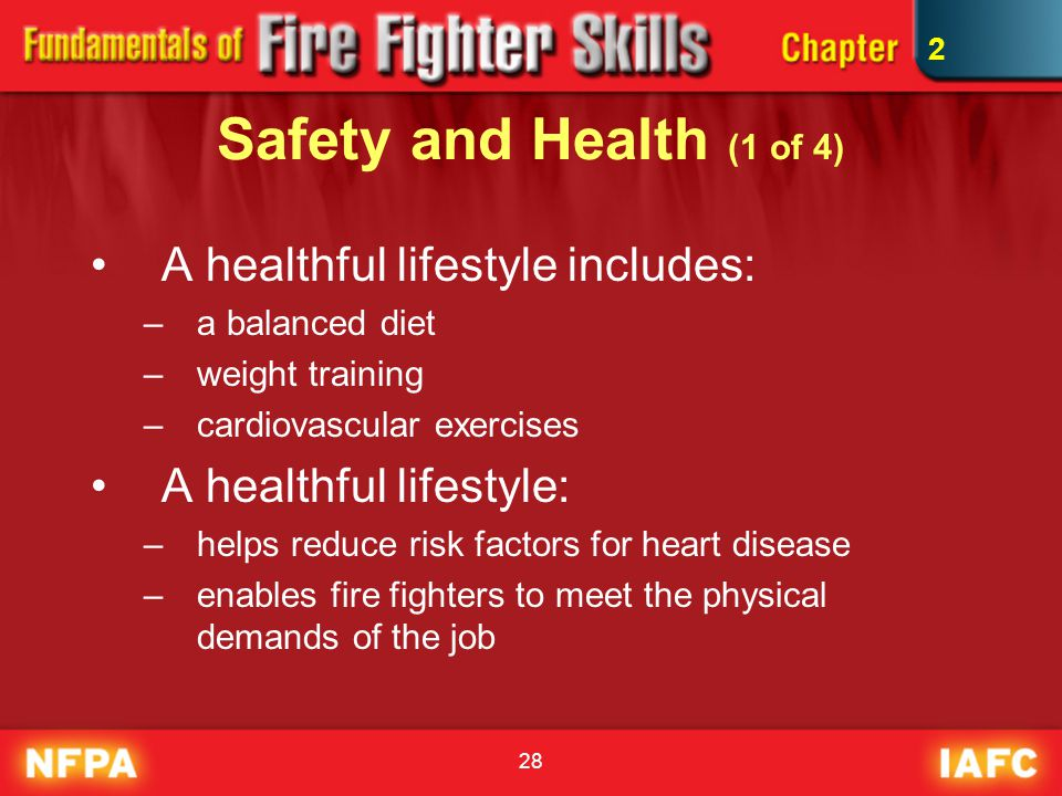 Safety and Health (1 of 4) A healthful lifestyle includes: