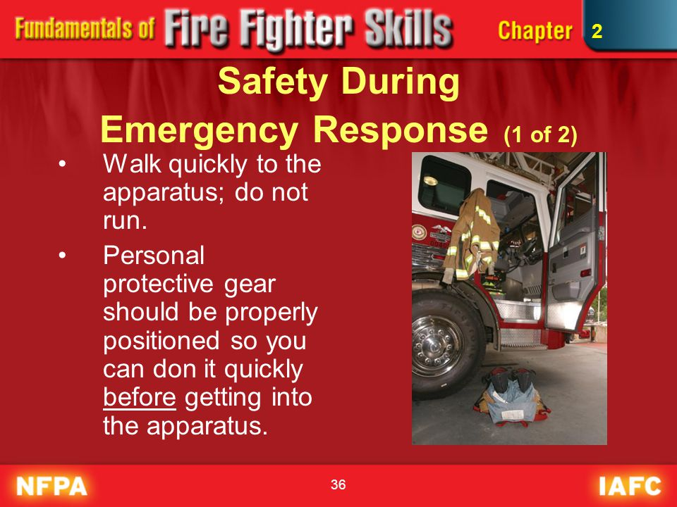 Safety During Emergency Response (1 of 2)