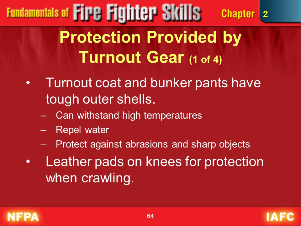 Protection Provided by Turnout Gear (1 of 4)