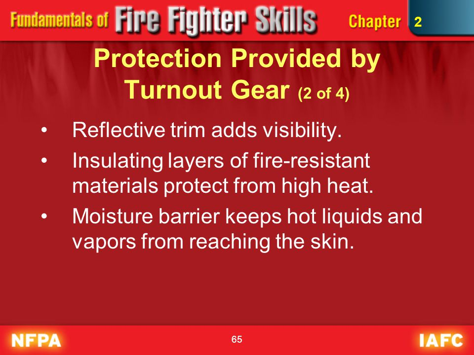 Protection Provided by Turnout Gear (2 of 4)