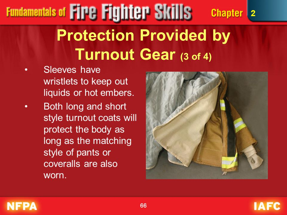 Protection Provided by Turnout Gear (3 of 4)
