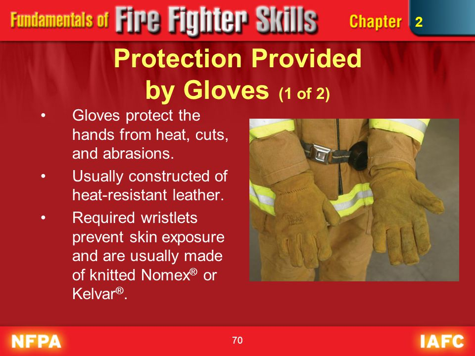Protection Provided by Gloves (1 of 2)