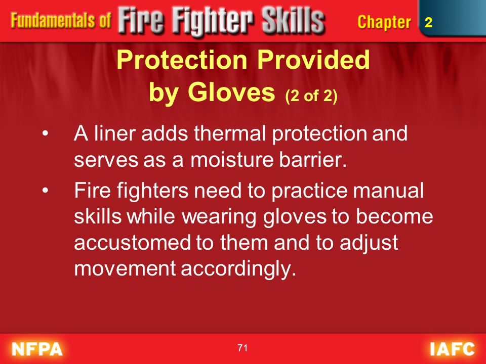 Protection Provided by Gloves (2 of 2)