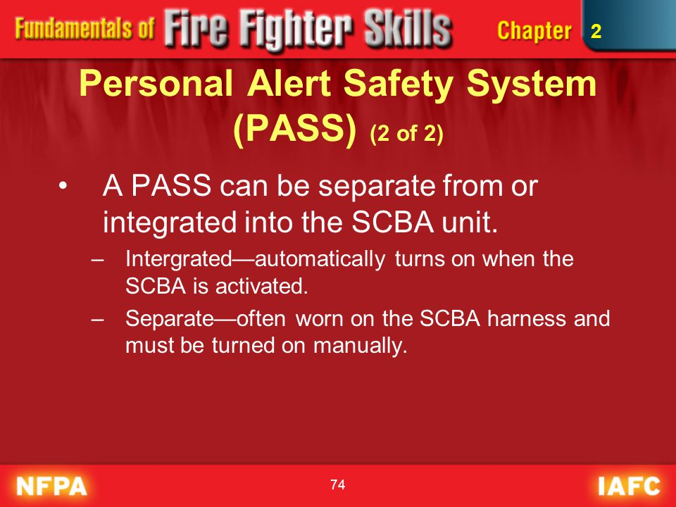 Personal Alert Safety System (PASS) (2 of 2)