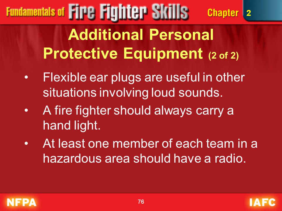 Additional Personal Protective Equipment (2 of 2)