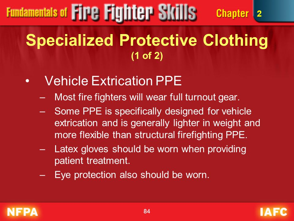 Specialized Protective Clothing (1 of 2)