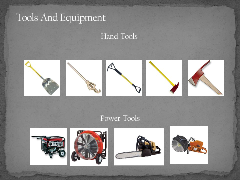 Tools And Equipment Hand Tools Power Tools