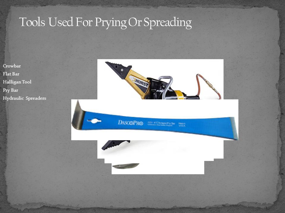 Tools Used For Prying Or Spreading