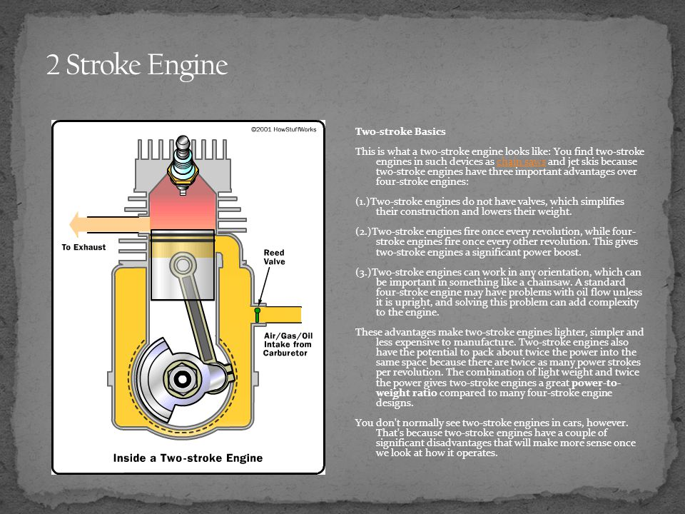 2 Stroke Engine Two-stroke Basics