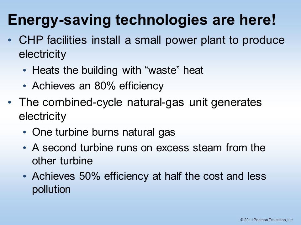 Energy-saving technologies are here!