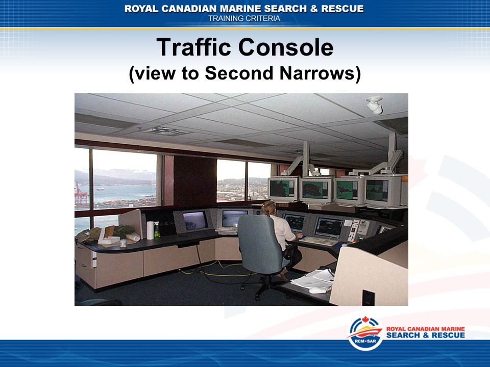 Traffic Console (view to Second Narrows)
