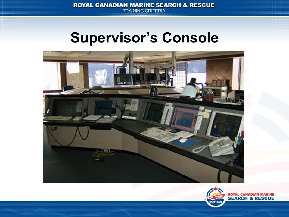 Supervisor's Console Deep Sea vessel anchorage assist (CH77)