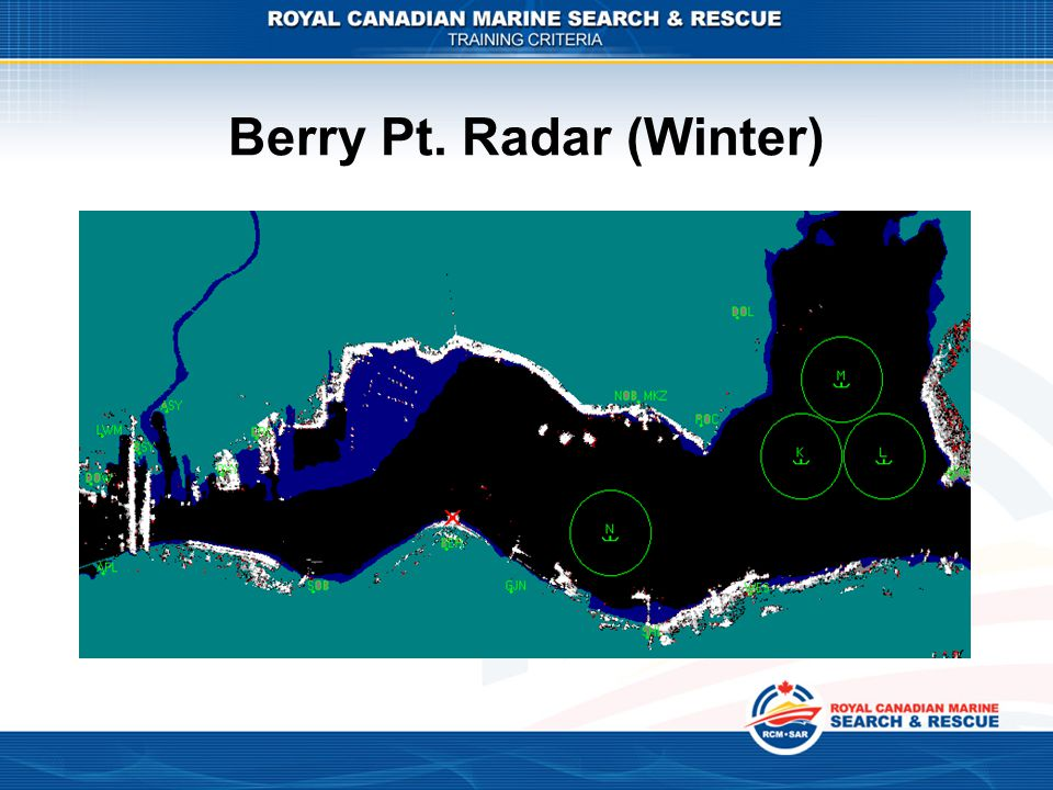 Berry Pt. Radar (Winter)