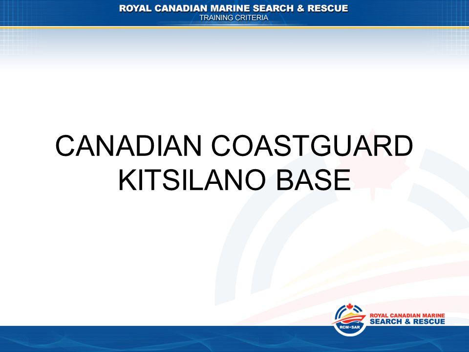CANADIAN COASTGUARD KITSILANO BASE