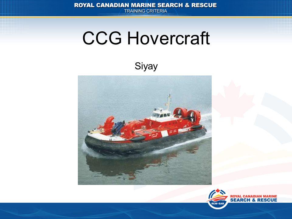 CCG Hovercraft Siyay