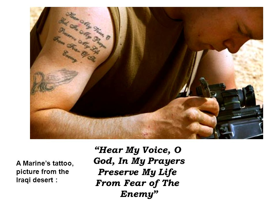 Hear My Voice, O God, In My Prayers Preserve My Life From Fear of The