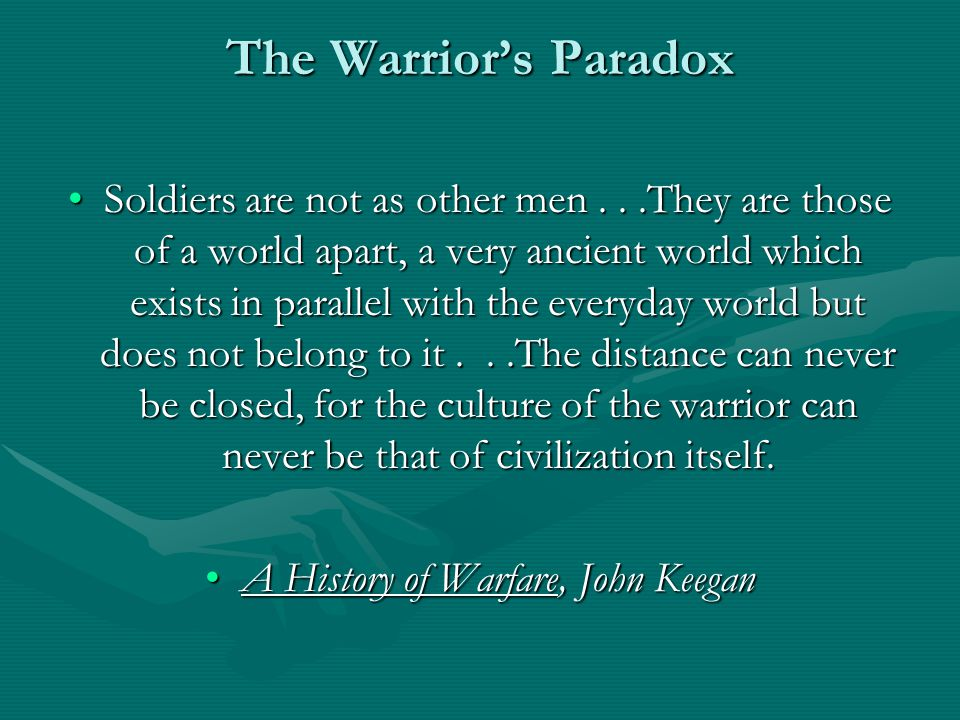 A History of Warfare, John Keegan