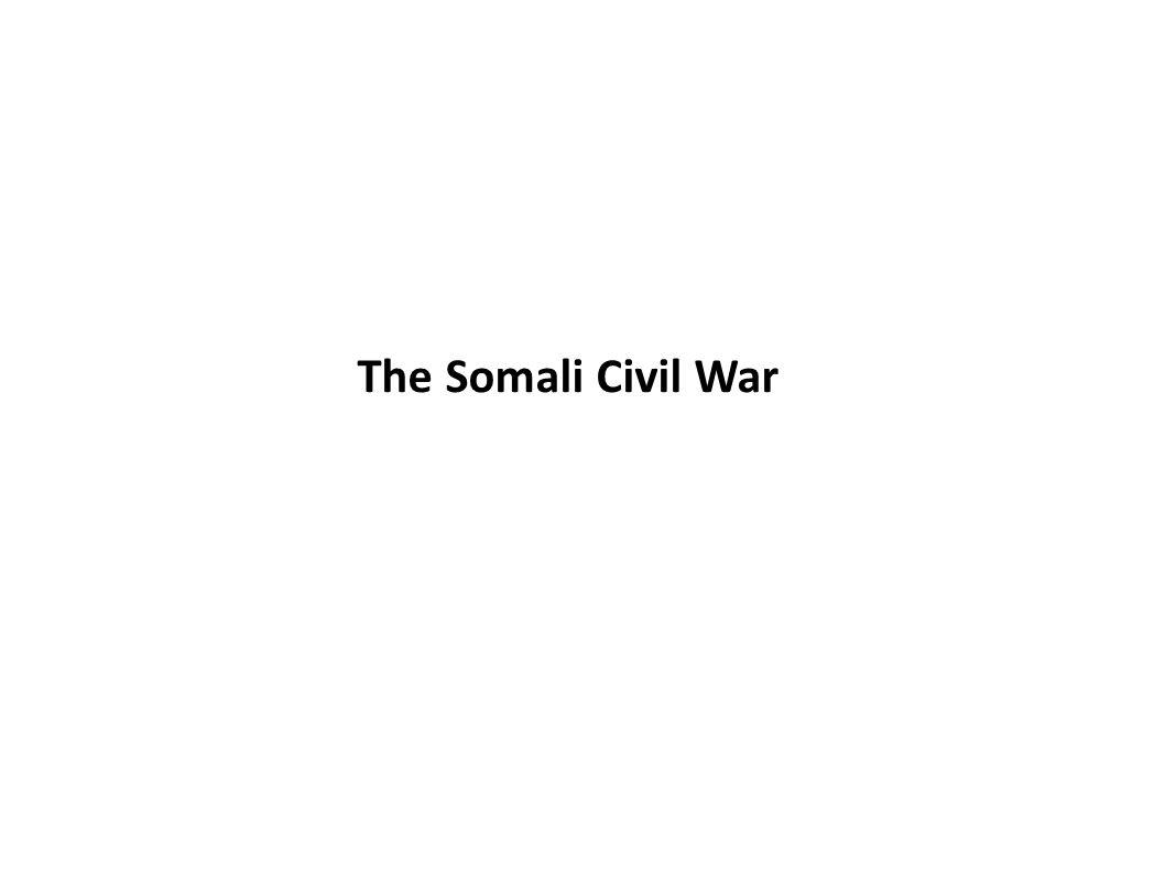 The Somali Civil War
