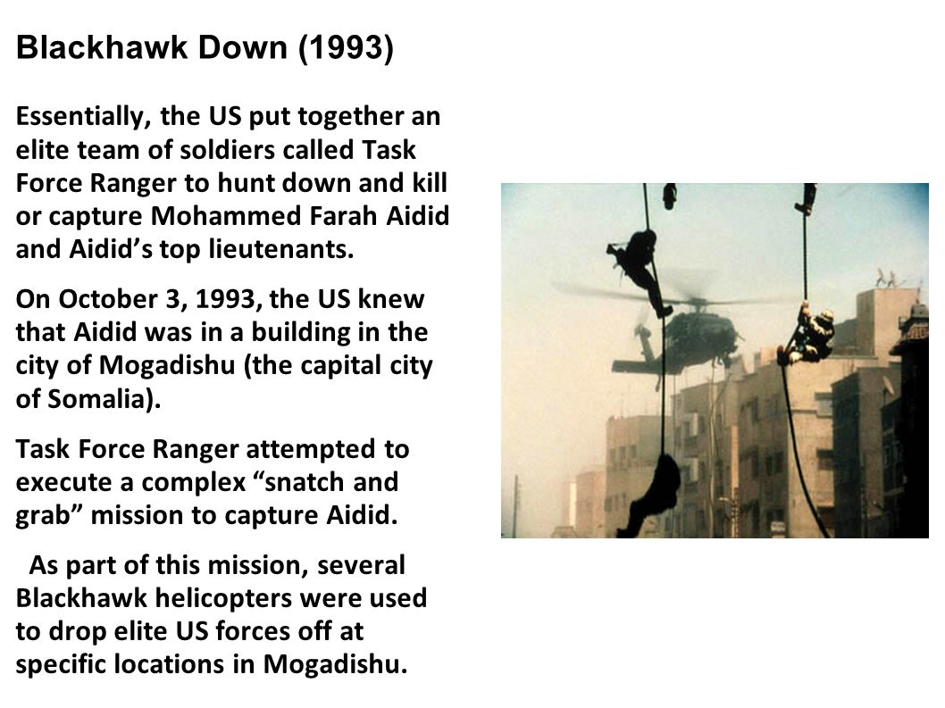 Blackhawk Down (1993)