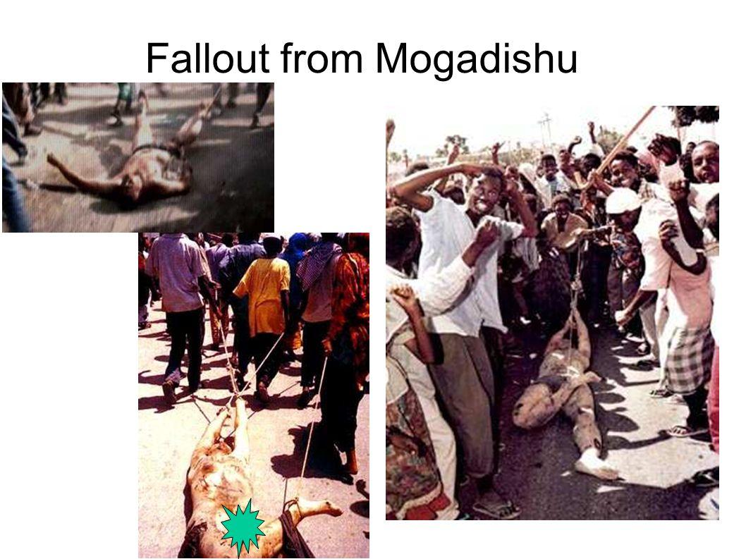 Fallout from Mogadishu