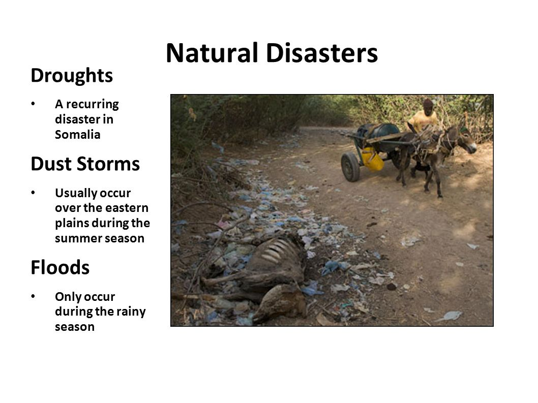 Natural Disasters Droughts Dust Storms Floods