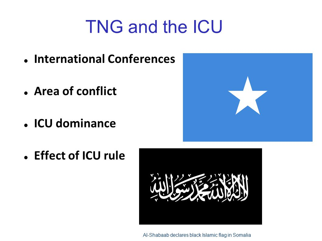 TNG and the ICU International Conferences Area of conflict