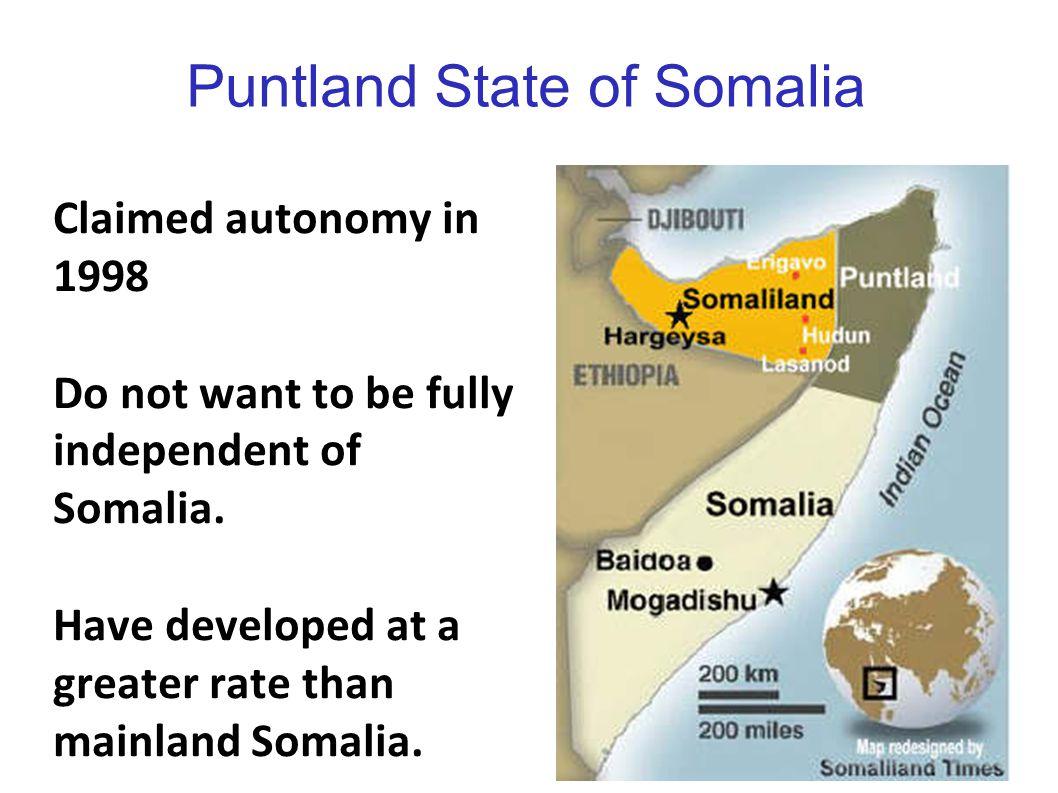 Puntland State of Somalia