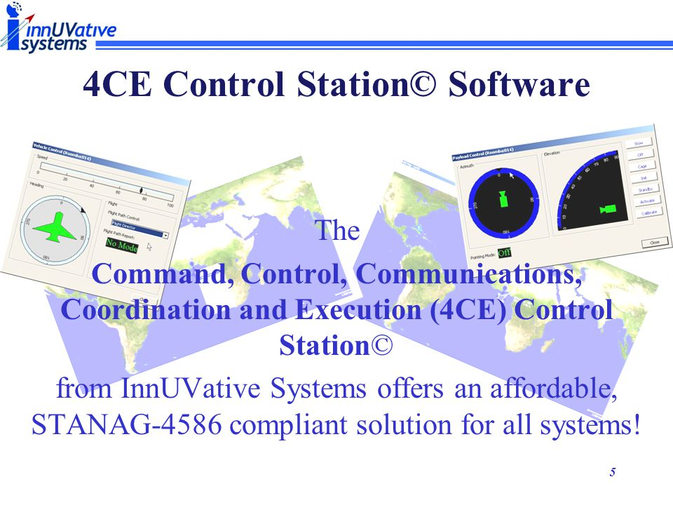 4CE Control Station© Software