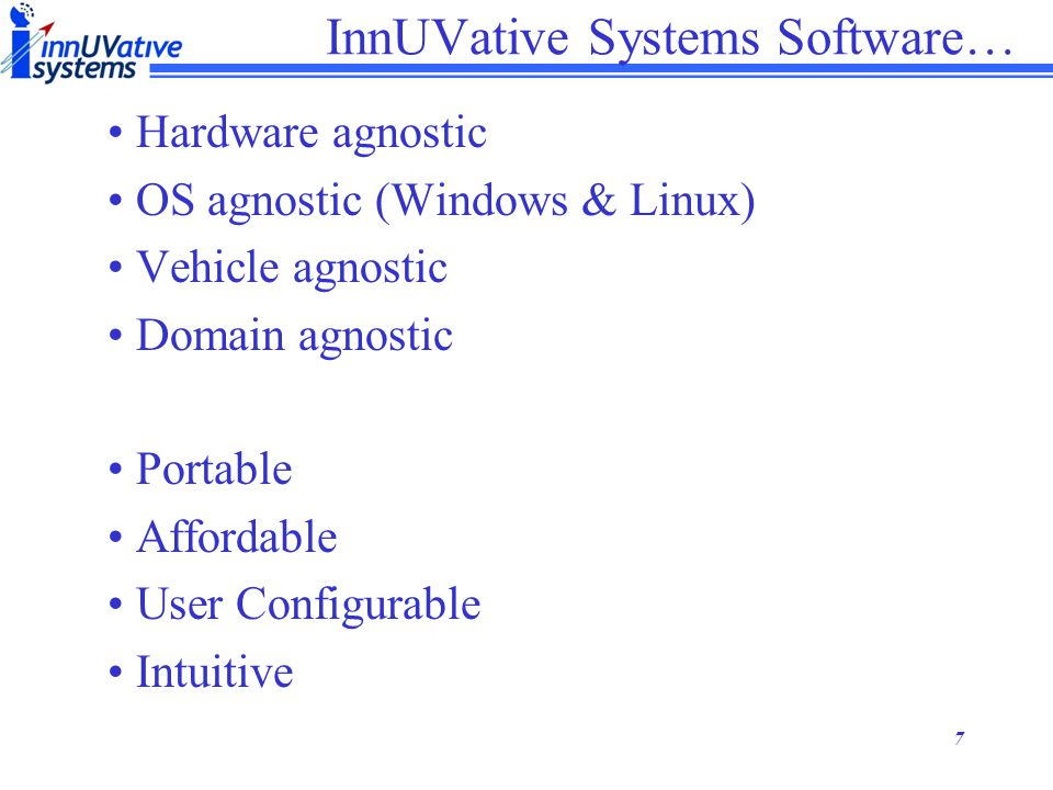 InnUVative Systems Software…