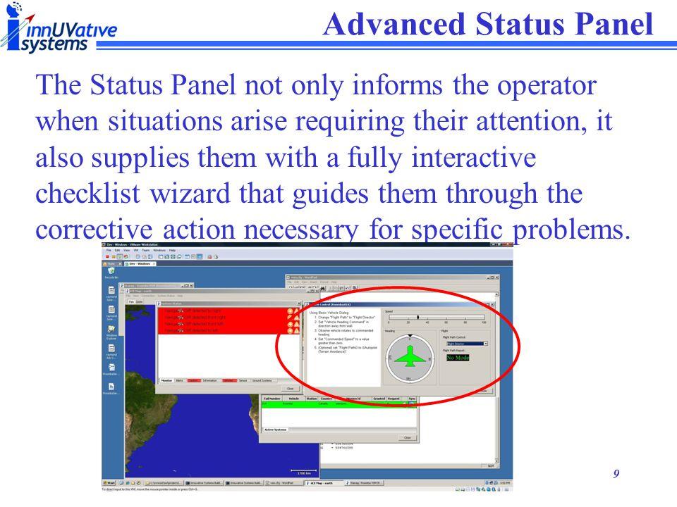 Advanced Status Panel