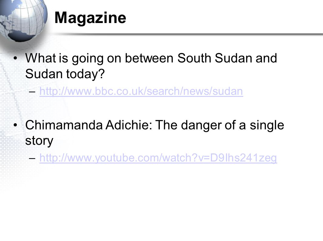 Magazine What is going on between South Sudan and Sudan today
