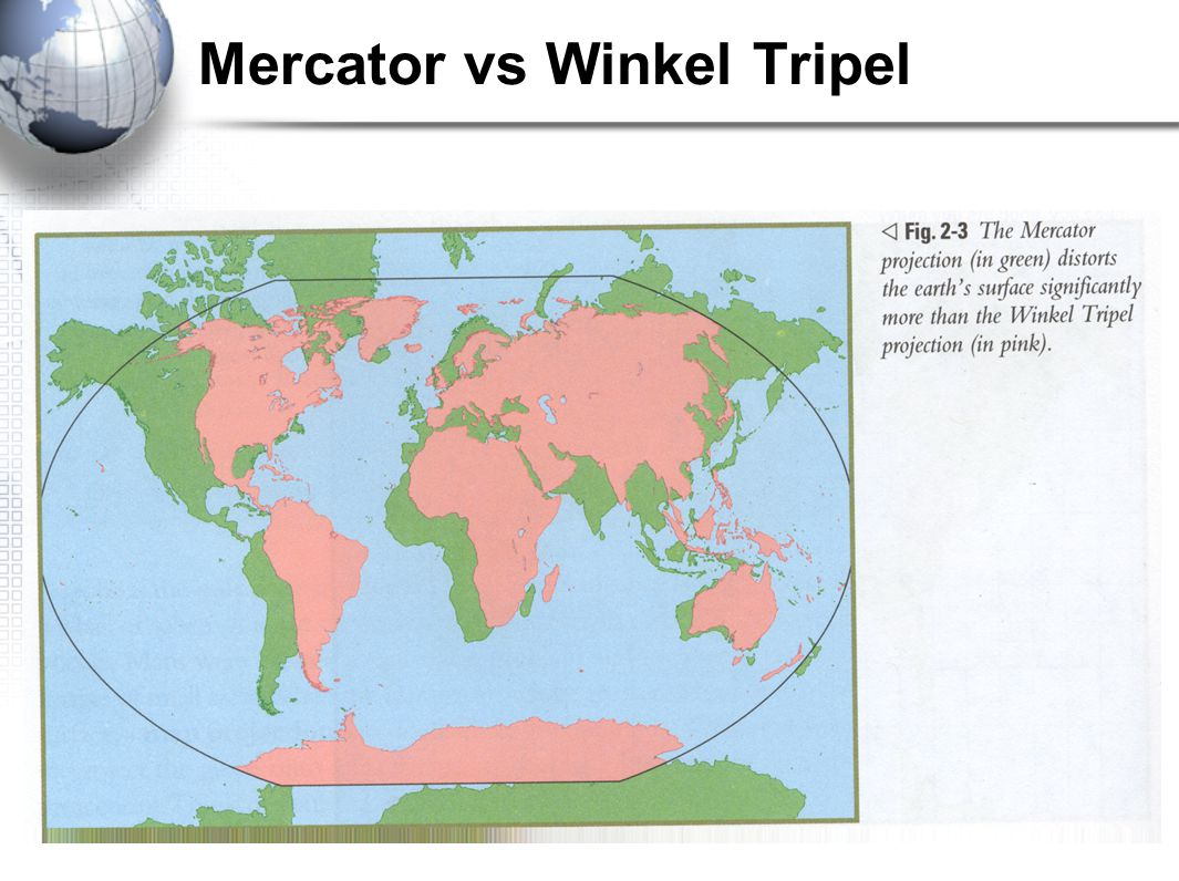 Mercator vs Winkel Tripel
