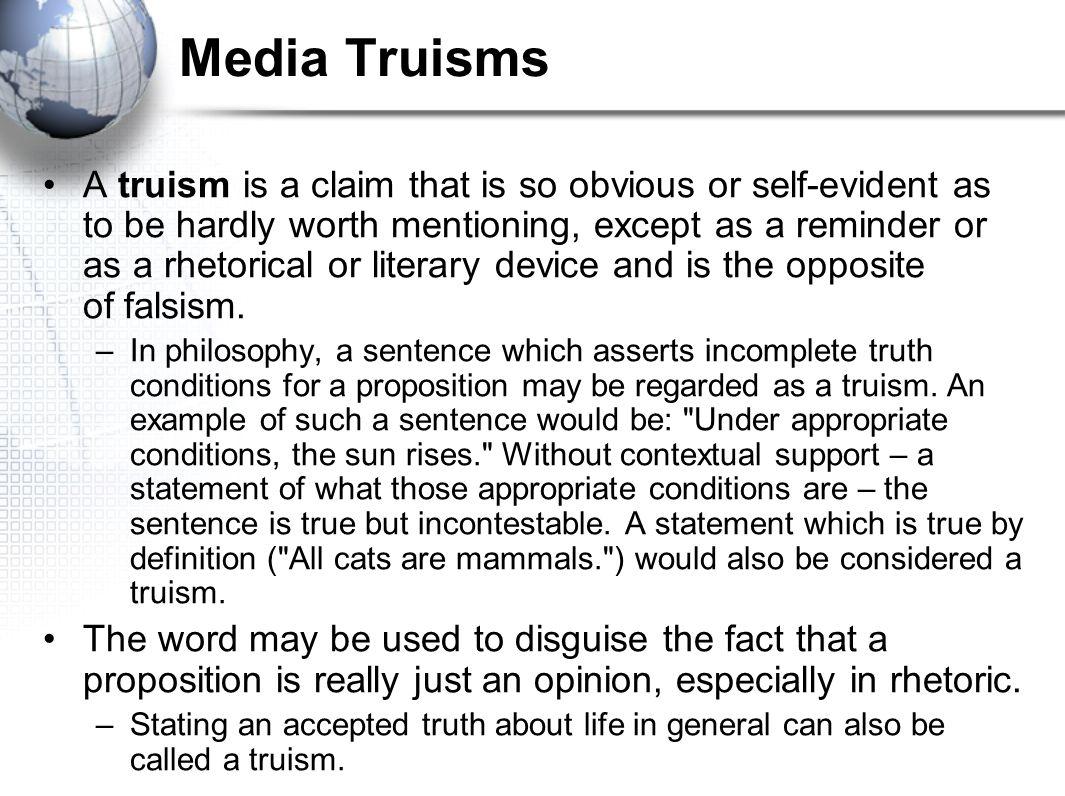 Media Truisms