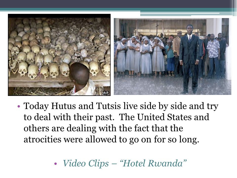 Video Clips – Hotel Rwanda